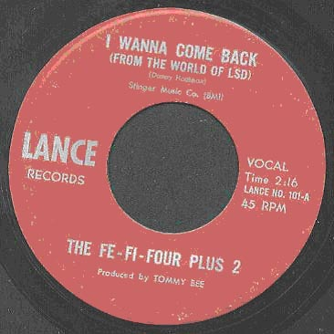 Classic Singles #10: The Fe-Fi-Four Plus 2 – I Wanna Come Back (From