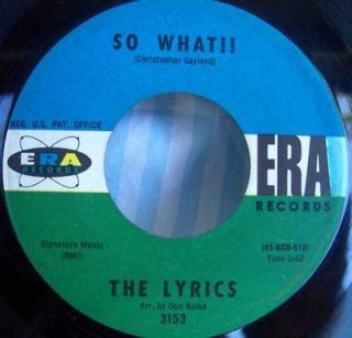Classic Singles 73 The Lyrics So What They Cant Hurt Me